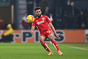Bristol City defender Scott Golbourne (13) during the EFL Sky Bet Championship match between Derby County and Bristol City at the Pride Park, Derby, England on 11 February 2017. Photo by Jon Hobley.