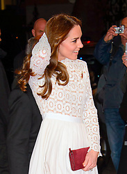 Her Royal Highness The Dutchess of Cambridge arriving at the World Premiere of A Street Cat Named Bob at the Curzon Mayfair on November 3 2016 in London. EXPA Pictures &copy; 2016, PhotoCredit: EXPA/ Avalon/ Famous<br /> <br /> *****ATTENTION - for AUT, SLO, CRO, SRB, BIH, MAZ, SUI only*****