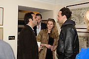AATISH TASEER; SARA BRAJOVIC; RAIMONDO GAETANI. Aatish Taseer  book launch party for his new book Stranger To History. Travel book asks what it means to be a Muslim in the 21st century. Hosted by Gillon Aitken. Kensington, London. 30 March 2009