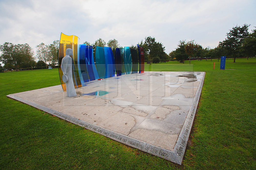 © Licensed to London News Pictures. 17/10/2016. Alrewas  Staffordshire England  <br /> Naval Service Memorial  located at the National Memorial  Arboretum, <br /> Rob Leyland/LNP