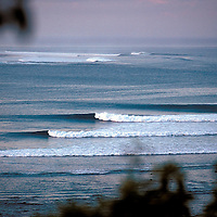 Dawn line-up at Tarimbang, Sumba, Indonesia.