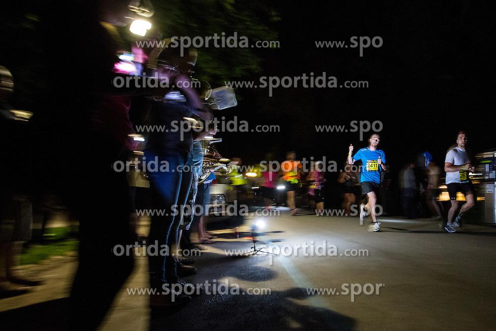 Nocna 10ka 2015, traditional running around Bled's lake, on July 11, 2015 in Bled,  Slovenia. Photo by Grega Valancic / Sportida