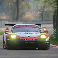 #91, Porsche Motorsport, Porsche 911 RSR (2017), driven by Richard Lietz, Frederic Makowiecki, FIA WEC 2017 Prologue, Autodromo Nazionale Monza, 01/04/2017,