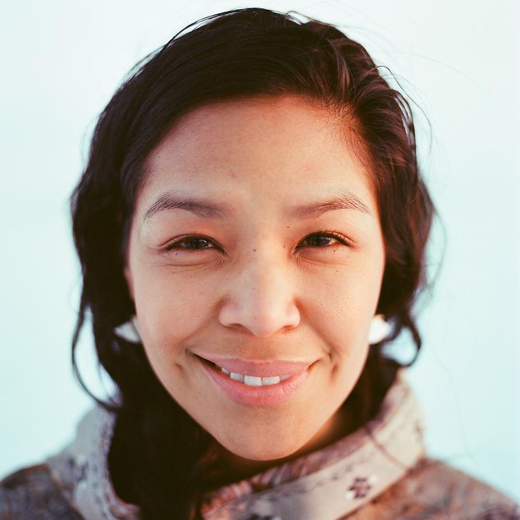 BARROW, ALASKA - 2013: Angela S. Cox.