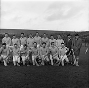 27/03/1966<br /> 03/27/1966<br /> 27 March 1966<br /> National Hurling League, Division II: Antrim v Kerry at Croke Park, Dublin. <br /> The Antrim team.