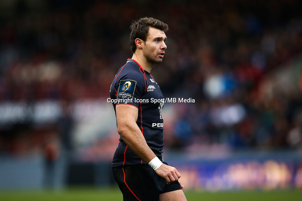 Vincent Clerc - 18.01.2015 - Toulouse / Bath - European Champions Cup<br /> Photo : Manuel Blondeau / Icon Sport