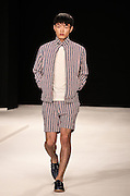 Models walk the catwalk at The Old Sorting office in London for London Mens Collections  on Monday 17th June 2013.