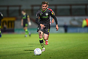 Forest Green Rovers Elliott Frear(17) runs forward during the EFL Sky Bet League 2 match between Morecambe and Forest Green Rovers at the Globe Arena, Morecambe, England on 22 October 2019.