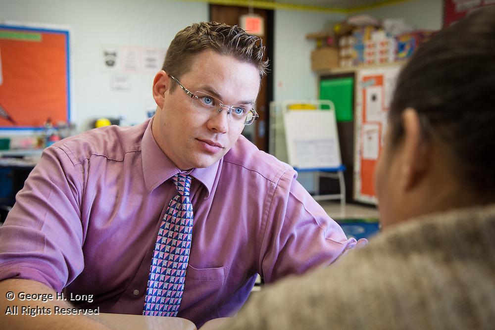 Erik Kelt, teacher at Success Preparatory Academy for Leading Educators