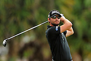 Kyle Stanley during the final round of the World Golf Championship Cadillac Championship on the TPC Blue Monster Course at Doral Golf Resort And Spa on March 11, 2012 in Doral, Fla. ..©2012 Scott A. Miller.