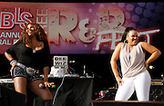 Salt & Pepa perform at the 4th Annual Central Park SummerStage R&B Fest at Rumsey Playfield on August 12, 2012.