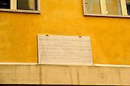 Roma 24 Aprile 2009.Museo Storico della Liberazione Via Tasso 155,  era il Comando SS e Gestapo, della polizia Nazista  durante l'occupazione da parte delle  Germania durante la Seconda Guerra Mondiale.<br /> Rome,April 24,2009.Historical Museum of the Liberation.Via Tasso 155, was the SS and Gestapo Command, the police during the Nazi occupation by Germany during the Second World War.