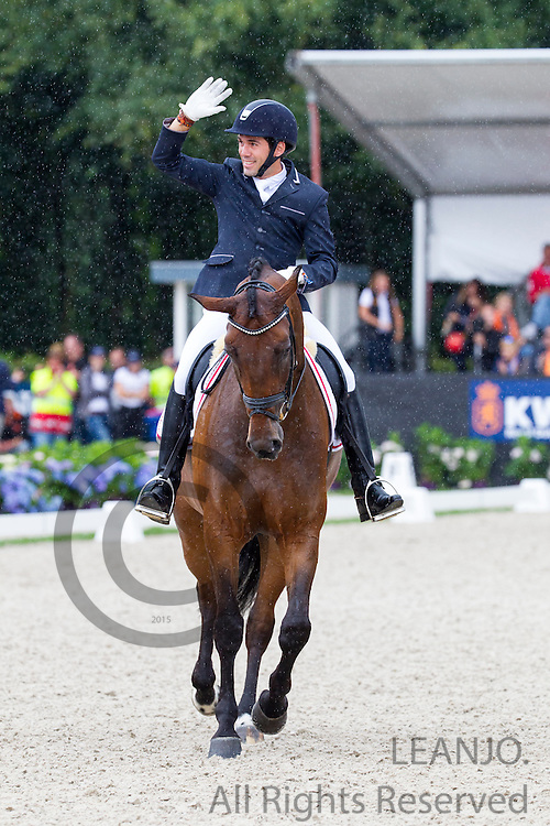 Severo Jurado Lopez - Fiontini<br /> Longines FEI/WBFSH World Breeding Dressage Championships for Young Horses 2016<br /> &copy; DigiShots