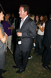 PIERS MORGAN at a party to celebrate the publication of Notting Hell by Rachel Johnson held in the gardens of 1 Rosmead Road, London W11 on 4th September 2006.<br />