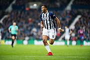 West Bromwich Albion (9) Salomon Rondon during the Premier League match between West Bromwich Albion and Crystal Palace at The Hawthorns, West Bromwich, England on 2 December 2017. Photo by Sebastian Frej.