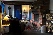 Sonderho Kro Hotel and Restaurant with quaint traditional style furniture on Fano Island in South Jutland, Denmark