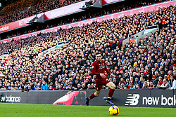 Andrew Robertson of Liverpool attacks at Anfield - Mandatory by-line: Robbie Stephenson/JMP - 11/11/2018 - FOOTBALL - Anfield - Liverpool, England - Liverpool v Fulham - Premier League