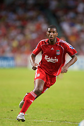 Hong Kong, China - Friday, July 27, 2007: Liverpool's Ryan Babel in action against Portsmouth during the final of the Barclays Asia Trophy at the Hong Kong Stadium. (Photo by David Rawcliffe/Propaganda)