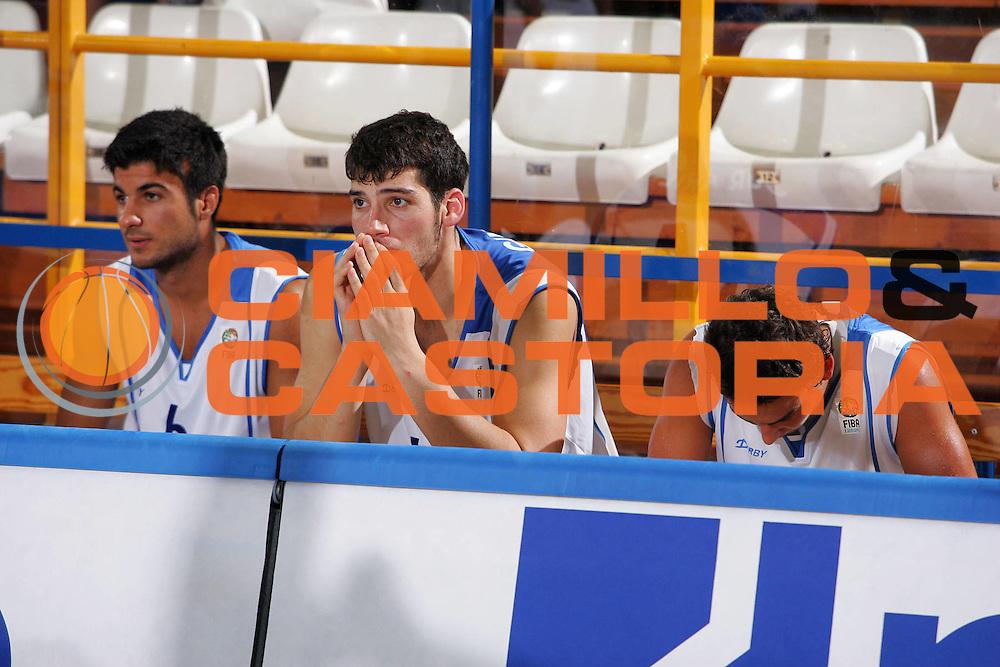 DESCRIZIONE : Gorizia U20 European Championship Men Qualifying Round Israel Italy <br /> GIOCATORE : Team Israel <br /> SQUADRA : Israel <br /> EVENTO : Gorizia U20 European Championship Men Qualifying Round Israel Italy Campionato Europeo Maschile Under 20 Qualificazioni Israele Italia <br /> GARA : Israel Italy <br /> DATA : 11/07/2007 <br /> CATEGORIA : Delusione <br /> SPORT : Pallacanestro <br /> AUTORE : Agenzia Ciamillo-Castoria/S.Silvestri <br /> Galleria : Europeo Under 20 <br /> Fotonotizia : Gorizia U20 European Championship Men Qualifying Round Israel Italy <br /> Predefinita :