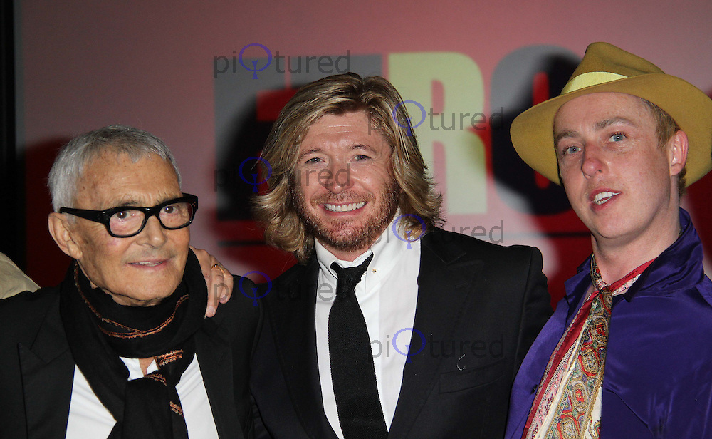 Nicky Clarke; James Brown; Vidal Sassoon: The Movie - UK Premiere, Vue Cinema, Westfield Shopping Centre, London, UK, 16 May 2011:  Contact: Rich@Piqtured.com +44(0)7941 079620 (Picture by Richard Goldschmidt)