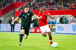 10.09.2013, Ernst Happel Stadion, Wien, AUT, FIFA WM Qualifikation, Oesterreich vs Irland, Rueckspiel, im Bild Seamus Coleman, (IRL, #2), David Alaba, (AUT, #8)// during the FIFA World Cup Qualifier second leg Match between Austria and Ireland at the Ernst Happel Stadium in Vienna, Austria on 2013/09/10. EXPA Pictures © 2013, PhotoCredit: EXPA/ Sebastian Pucher