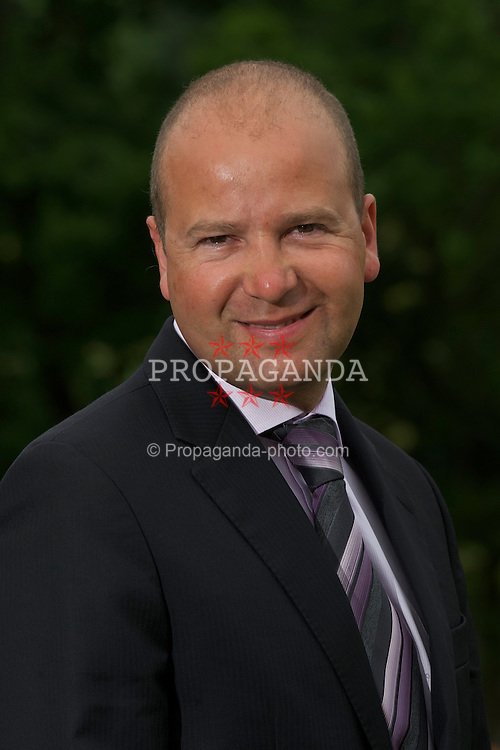 CARDIFF, WALES - Wednesday, August 11, 2010: The Football Association's new Chief Executive Jonathan Ford. (Pic by David Rawcliffe/Propaganda)