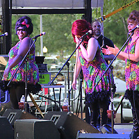 (Floyd Ingram / Buy at photos.chickasawjournal.com)<br /> The Bouffants took to the Flywheel Festival stage Friday night with a fun and color form of entertainment.