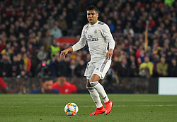 February 6, 2019 - Barcelona, BARCELONA, Spain - Casemiro of Real Madrid in action during Spanish King championship, football match between Barcelona and Real Madrid, February 06th, in Camp Nou Stadium in Barcelona, Spain. (Credit Image: © AFP7 via ZUMA Wire)