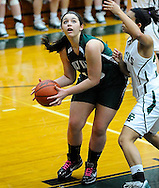 The Elyria Catholic girls varsity basketball team dropped its first game of the season to visiting Holy Name on January 12, 2011 at Elyria Catholic High School.
