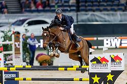 Bruynseels Niels, BEL, Delux van T&L<br /> Stuttgart - German Masters 2019<br /> © Hippo Foto - Stefan Lafrentz<br /> 14/11/2019