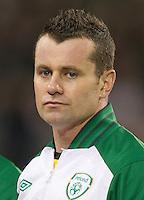 Fussball International, Nationalmannschaft   EURO 2012 Play Off, Qualifikation, Irland - Estland 15.11.2011 Shay GIVEN (IRL); Portrait