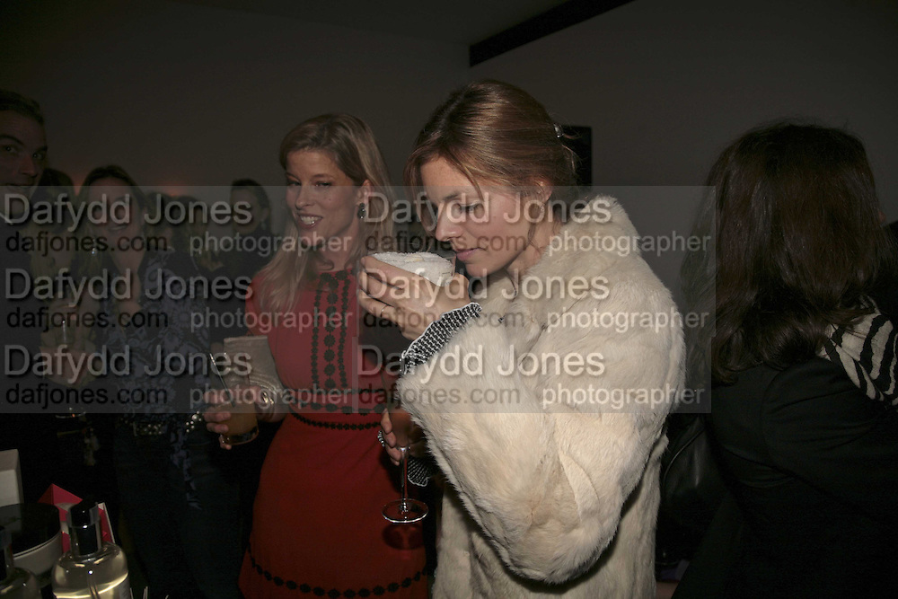 Jessica Zambaletti and Chantal Conrad, India Hicks And Crabtree & Evelyn launch new skincare range. : Hempel Hotel, 31-35 Craven Hill Gardens, London, W2, 22 November 2006. ONE TIME USE ONLY - DO NOT ARCHIVE  © Copyright Photograph by Dafydd Jones 66 Stockwell Park Rd. London SW9 0DA Tel 020 7733 0108 www.dafjones.com