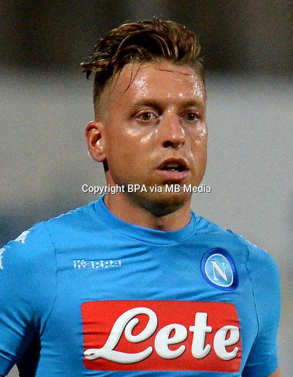 Italian League Serie A -2016-2017 / <br /> ( Ssc Napoli ) - <br /> Emanuele Giaccherini