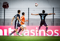 Miha Gregoric of Gorica during 2nd Leg football match between ND Gorica and FC Shirak in 1st Qualifying Round of UEFA Europa League 2017/18, on July 6, 2017 in Nova Gorica, Slovenia. Photo by Vid Ponikvar / Sportida