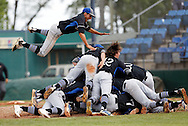 May 16: Timberline celebrates their come-from-behind 5-3 victory over Lewiston to win the Idaho 5A state baseball championship on Saturday at Memorial Stadium in Garden City. The Wolves scored three runs in the last inning for the victory.