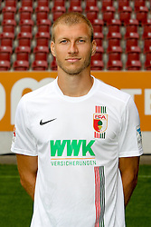 08.07.2015, WWK Arena, Augsburg, GER, 1. FBL, FC Augsburg, Fototermin, im Bild Ragnar Klavan #5 (FC Augsburg) // during the official Team and Portrait Photoshoot of German Bundesliga Club FC Augsburg at the WWK Arena in Augsburg, Germany on 2015/07/08. EXPA Pictures © 2015, PhotoCredit: EXPA/ Eibner-Pressefoto/ Kolbert<br /> <br /> *****ATTENTION - OUT of GER*****