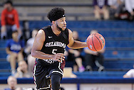November 2, 2016: The Oklahoma Christian University Eagles play an exhibition game against the University of Tulsa Golden Hurricane at the Donald W. Reynolds Center in Tulsa, Oklahoma.