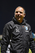 Gillingham FC caretaker manager Steve Lovell after the EFL Sky Bet League 1 match between Gillingham and Bury at the MEMS Priestfield Stadium, Gillingham, England on 11 November 2017. Photo by Martin Cole.