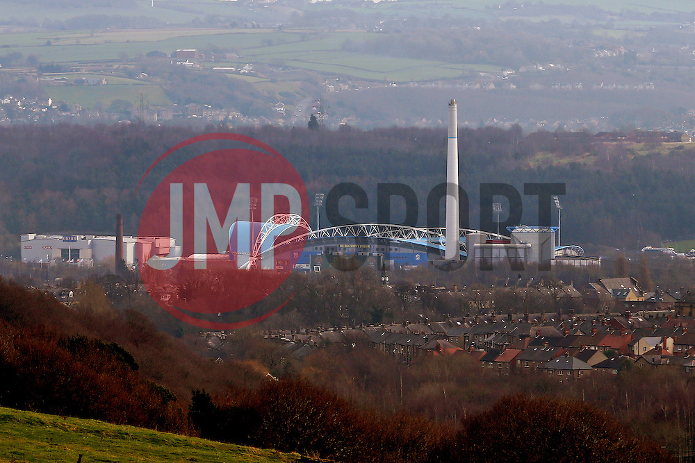 A general view of the John Smith's Stadium - Mandatory by-line: Matt McNulty/JMP - 18/02/2017 - FOOTBALL - The John Smith's Stadium - Huddersfield, England - Huddersfield Town v Manchester City - Emirates FA Cup fifth round