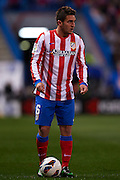MADRID, SPAIN- FEBRUARY 24: Koke of Club Atletico de Madrid in action during the Liga BBVA between Atletico de Madrid and RCD Espanyol at the Vicente Calderon stadium on February 24, 2013 in Madrid, Spain. (Photo by Aitor Alcalde Colomer).