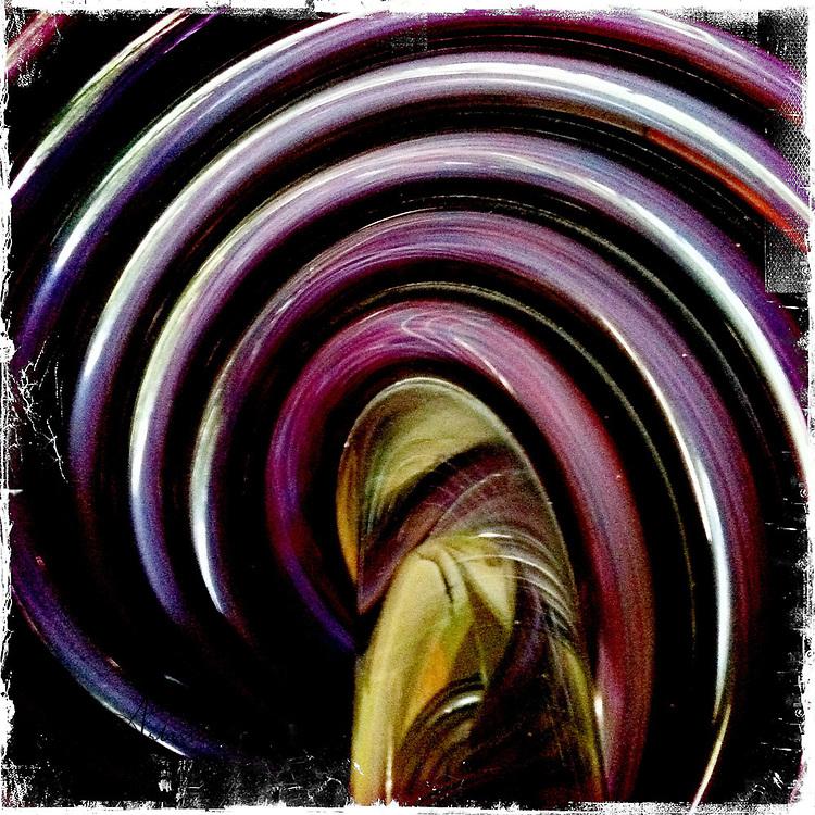 Glass swirls - Houston, Texas