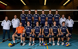 24-10-2012 VOLLEYBAL: SSS TEAMSELECTIE 2012-2013: BARNEVELD<br /> Photoshoot SSS Barneveld seizoen 2012 - 2013 / Teamfoto SSS<br /> ©2012-FotoHoogendoorn.nl