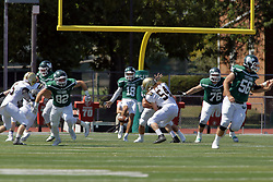 09 September 2017:  Noah Baird during an NCAA division 3 football game between the Nebraska Wesleyan PRAIRIE WOLVES and the Illinois Wesleyan Titans in Tucci Stadium on Wilder Field, Bloomington IL