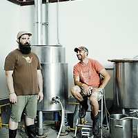 Lowell Massachusetts Brewers Mike and PJ at their Navigation Brewing Company