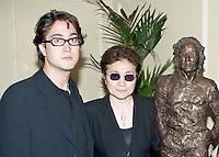 Yoko Ono and Sean Lennon. The Silver Clef Awards 1997, The Intercontinental, London<br /> (Photo/John Marshall JME)