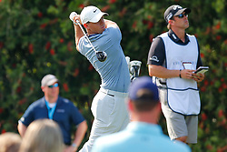 March 15, 2019 - Ponte Vedra Beach, FL, U.S. - PONTE VEDRA BEACH, FL - MARCH 15: .Rory McIlroy of Northern Ireland tees off on the 10th hole during the second round of THE PLAYERS Championship on March 15, 2019 on the Stadium Course at TPC Sawgrass in Ponte Vedra Beach, Fl.  (Photo by David Rosenblum/Icon Sportswire) (Credit Image: © David Rosenblum/Icon SMI via ZUMA Press)