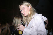 JODIE KIDD. Launch of Stella McCartney collaboration with H & M. St. Olaves. Tooley St. London SE1. 25 October 2005. October 2005. ONE TIME USE ONLY - DO NOT ARCHIVE © Copyright Photograph by Dafydd Jones 66 Stockwell Park Rd. London SW9 0DA Tel 020 7733 0108 www.dafjones.com