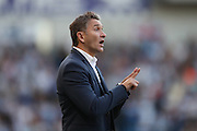 Nottingham Forest Manager Philippe Montanier during the EFL Sky Bet Championship match between Brighton and Hove Albion and Nottingham Forest at the American Express Community Stadium, Brighton and Hove, England on 12 August 2016.