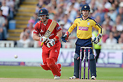 Steven Croft during the NatWest T20 Blast Semi Final match between Hampshire County Cricket Club and Lancashire County Cricket Club at Edgbaston, Birmingham, United Kingdom on 29 August 2015. Photo by David Vokes.