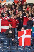 Denmark fans - Scotland v Denmark, International challenge match at Hampden Park<br /> <br />  - &copy; David Young - www.davidyoungphoto.co.uk - email: davidyoungphoto@gmail.com